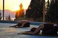 Silver Island - Greek Island Yoga Retreat - the perfect way to relax before your wedding