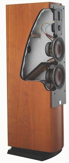 HIDEF Lifestyle DALI - MENTOR 6 - Floorstanding Speaker Cherry (pr) The Most Trusted AV Source Audio Design, Speaker Design, Home Theater Store, Floor Standing Speakers, Big Speakers, Wooden Cabinets, Vacuum Tube, Loudspeaker, Home Entertainment