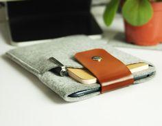 Felt ipad mini case , iPadmini sleeve , mini iPad case , mini case ,mini sleeve , mini ipad cover(301)