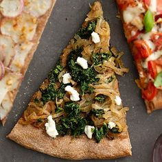 Spinach and Cheese Pizza - 7 Fresh and Healthy Vegetable Pizza Recipes - Health Mobile