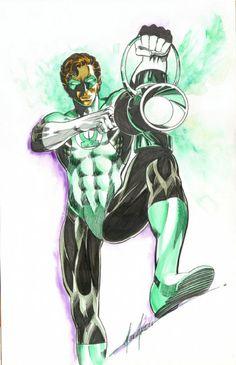 Mike Grell:  Green Lantern