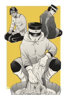 The most normal person in the story Normal Person, Awesome Anime, Disney Cartoons, Manga, Final Fantasy, Geek Stuff, Poses, Golden Kamuy, Comics