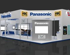 Panasonic India Participated in Broadcast India Show. Booth Designed & fabricated by Team Skyline Events & Exhibitions