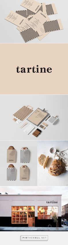 Tartine Bakery / Branding on Behance… – a grouped images picture – corporate branding identity Corporate Design, Brand Identity Design, Graphic Design Branding, Logo Design, Corporate Branding, Brand Design, Web Design, Layout Design, Bakery Branding