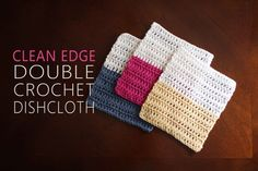 CLEAN EDGE DISHCLOTH