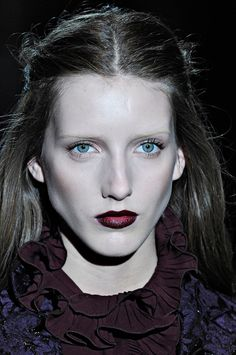 Gucci Fall 2012   Beauty Report Photo