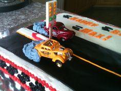 Hot rod cake