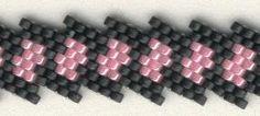 Diagonal peyote bracelet  ~ Seed Bead Tutorials