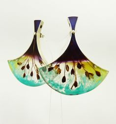 Vania Ruiz l Casa Kiro, Chile - 'Fan' earrings