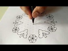 How to draw 15-8 ball kolam - Dr.N.V.S.Sree Rathna Lakshmi