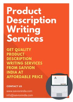 Saivion India has a well versed technical team of description writers which can perform accurate description writing for your products and services. Description Writing, Product Description, How To Attract Customers, Writing Services, Ecommerce, Improve Yourself, Verses, Writer, Scriptures