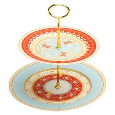 Maxwell & Williams Cashmere Enchante 2-Tier Cake Stand
