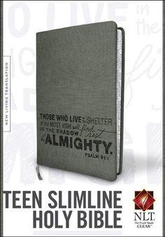 Teen Slimline Bible NLT:Amazon:Books