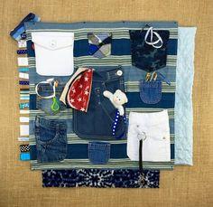 Pockets! Fidgit Activity Blanket Alzheimer's | Dementia | Sensory by TheFidgitShoppe via Etsy