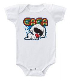 Kiditude - Lady Gaga Funny Baby Onesie $16.95