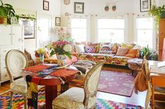 House Tour: A Rainbow-Boho Apartment in Oakland | Apartment Therapy