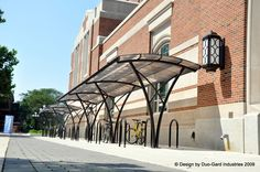 Bike Shelters | Duo-Gard bike shelter at University of Michigan North Quad. Ann Arbor, MI