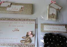 Ursa de oncinha: Chá de bebê e lembrança de maternidade!