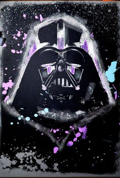 Darth Vader this is what I used to paint