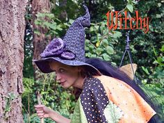 (DIY free pattern)The Dead Roses Witch Hat: Halloween Classic Halloween Costume Ghost, Zombie Halloween, Masque Halloween, Ghost Costumes, Diy Costumes, Halloween Crafts, Costume Ideas, Happy Halloween, Halloween Decorations