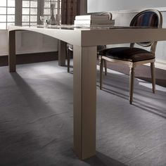 Table M'arco wood leg | milanomondo
