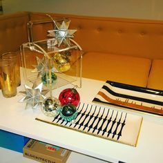 mrspk&oz has fabulous gifts for the holidays! Hostess Gifts, Holiday Gifts, Modern Furniture, Furniture Design, Tis The Season, Midcentury Modern, Ceramics, Holidays, Table Decorations
