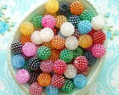 Gumball Mix Berry Beads