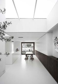 Casa W-DR, Gante (Flandes, Bélgica) | Graux & Baeyens Architecten | 2008 # Vivienda entre medianeras # Rehabilitación