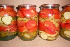 Салаты без стерилизации на зиму из помидоров и огурцов | Блог elisheva.ru