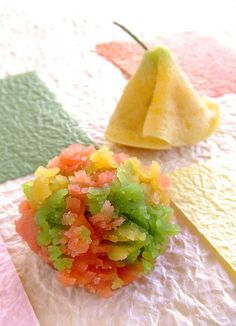 (6) noveMbeR WagaShi | 和 | Pinterest | 紅葉 (foliage~ Maple leaves and Ginkgo leaf) Seasonal FALL - themed Japanese Confectionery,  Wagashi 『和菓子』 |