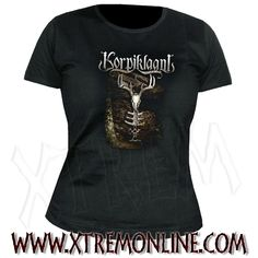 Korpiklaani - The Forest. Camiseta oficial.