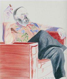 Музей рисунка - David Hockney, Дэвид Хокни род. 9 июля 1937, Брэдфорд
