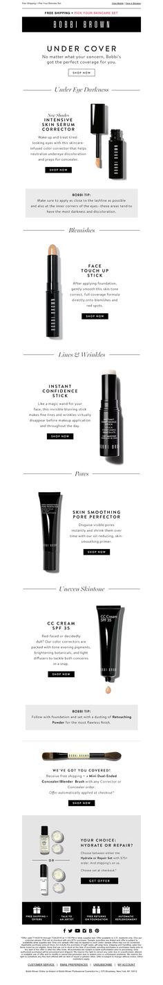 Bobbi Brown - Bad Day Beauty: How to get an instant skin fix. (Plus, receive a skincare set with your order)