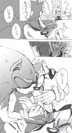 sonamy_manga Sonic And Amy, Sonic Boom, Sonic The Hedgehog, Sonamy Comic, Bad Comics, Amy Rose, Fate Stay Night, Geek Stuff, Manga