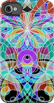 Floral abstract background  http://www.redbubble.com/people/medusa81/works/9332989-floral-abstract-background?p=iphone-case