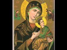Our Lady of Perpetual Help / Nuestra Señora del Perpetuo Socorro Blessed Mother Mary, Blessed Virgin Mary, Catholic Prayers, Catholic Saints, Roman Catholic, Catholic Herald, Catholic Bible, Novena Prayers, Prayer For Financial Help