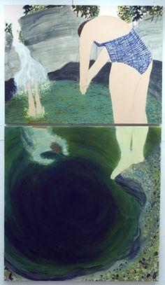 Giordanne Salley - Cady's Falls (diptych)