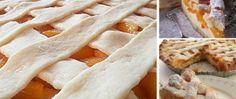 Recept Křehký koláč s pudinkem a meruňkami
