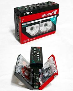 Sony-WM W800 (1985), twin tape deck hence the ability to copy a cassette without the use of external equipment