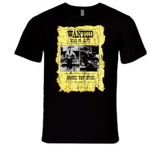 Bonnie And Clyde Wanted Dead Or Alive T Shirt