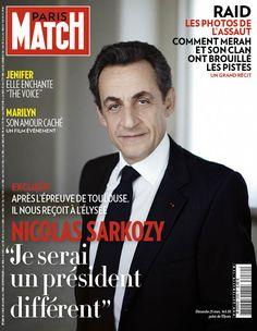 Paris Match n° 3280 du 29 mars 2012.