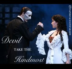 The Phantom of the Opera / Love Never Dies • @paperfacesonparade