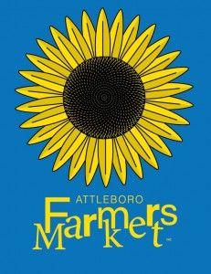 The Sunflower logo for Attleboro Farmers Market 2012