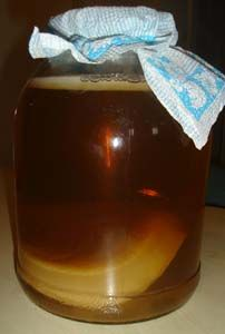 Kombucha Tea. Known to cure everything from cancer to depression to arthritis and even wrinkles. It's antiviral, anti fungal and antibiotic properties can be brewed at home