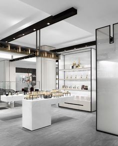 First Place Renovation – Department Store The Galleria Luxury Hall West, Seoul, South Korea Submitted by: Burdifilek, Toronto Retail Interior Design, Showroom Design, Retail Store Design, Retail Shop, Interior Exterior, Retail Displays, Shop Displays, Merchandising Displays, Window Displays