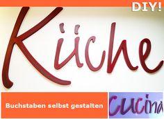 Buchstaben & Schriftzüge - DIY-BUCHSTABEN ★ DIY ★ Kreativ-Set - ein Designerstück von abc_ABC bei DaWanda