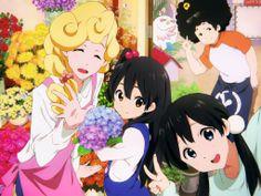 Tamako Market, Tamako Love Story, Miss Kobayashi's Dragon Maid, Flying Witch, Kyoto Animation, Drawing Base, Comics Girls, Image Boards, Mochi