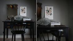 Lena Lidman maler soverommet grønt
