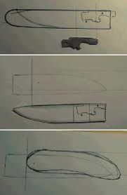 Resultado de imagen para friction folder knife plans