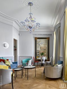 Art Deco Furniture, Furniture Styles, Furniture Design, Best Interior, Interior Styling, Interior Design, Grey Walls, Small Apartments, Sweet Home